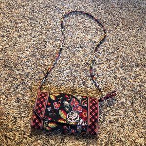 Vera Bradley Crossbody Colorful Print Purse Bag